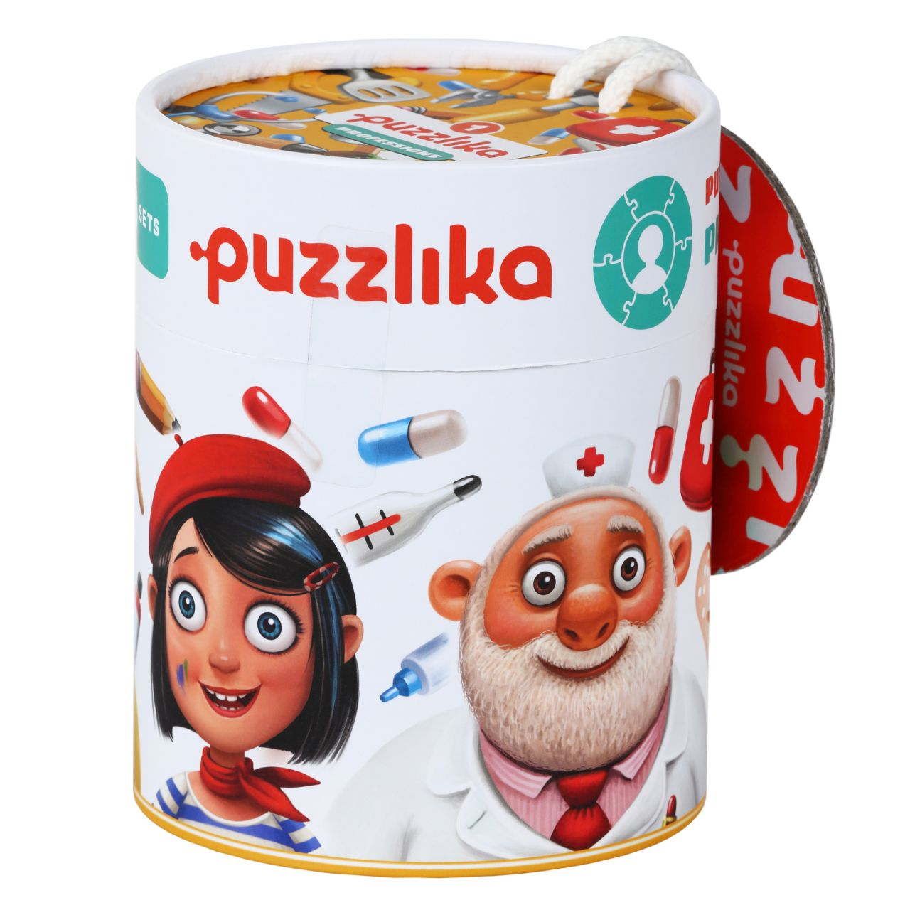 Puzzlika 13517 Profese 1 - naučné puzzle 21 dílků